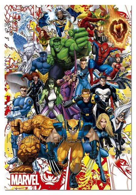 Heroes Marvel 500P