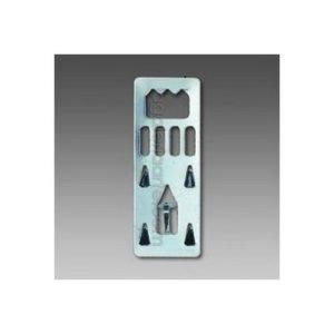Colgador Clavable para Carton Pluma 100 Unidades