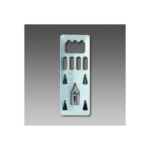 Colgador Clavable para Carton Pluma 10 Unidades
