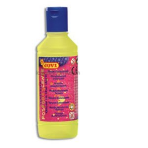 Tempera Fosforescente Amarilla JOVI 250ml