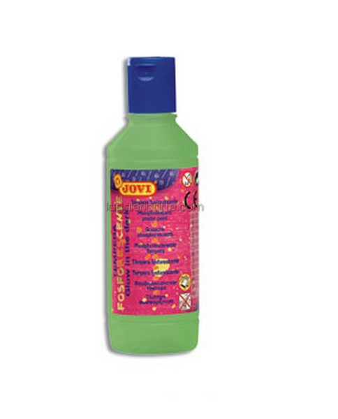 Tempera Fosforescente Verde JOVI 250ml