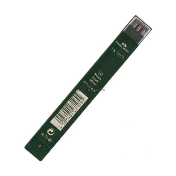 10 Minas FABER-CASTELL 3,15mm 4B