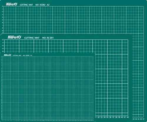 Plancha de corte A2 42x59,4cm verde