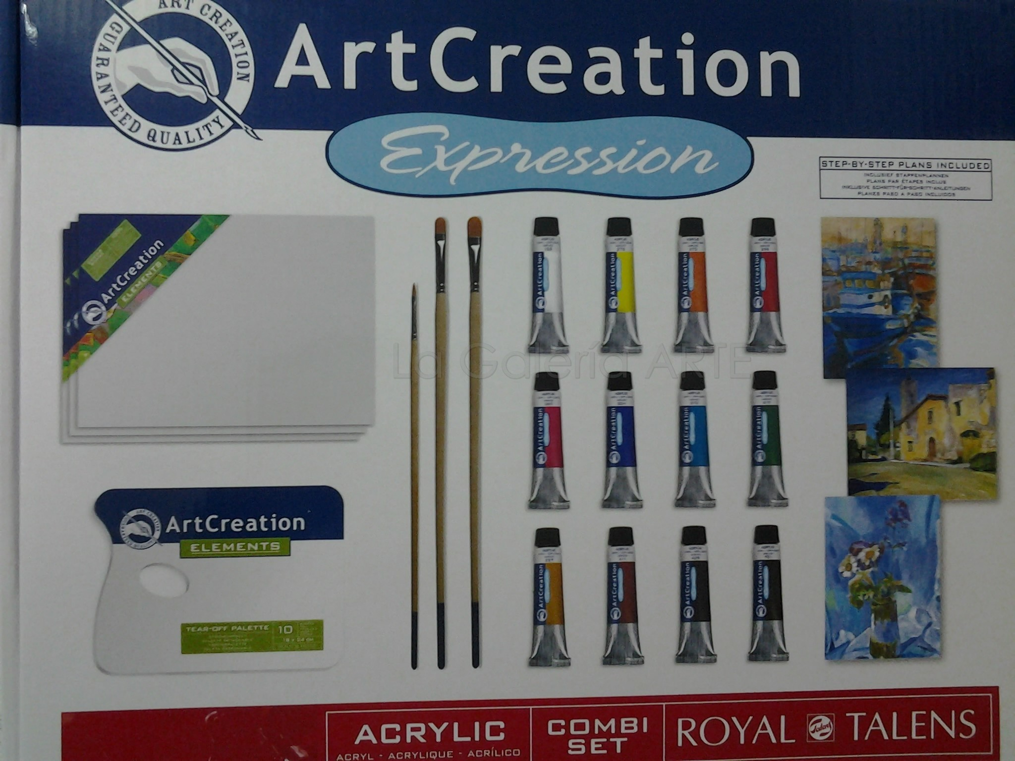 Combi Set 3 Acrilico ArtCreation 12ml