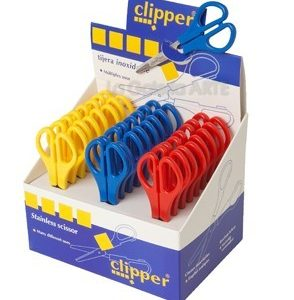 Tijeras Clipper escolar expositor 25 un.