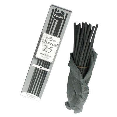 Carboncillos Coates Medio 5-6mm 25 unidades