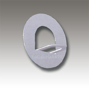 Colgador Metalico Redondo 20 unidades