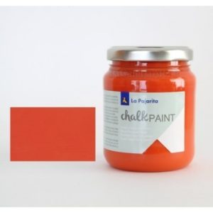 Pintura Tiza Chalk Paint La Pajarita 09 Naranja Nepal 75ml
