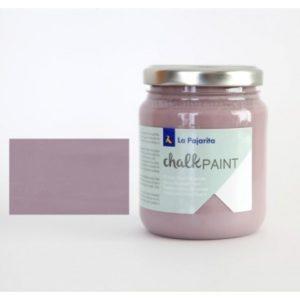 Pintura Tiza Chalk Paint La Pajarita 12 Malva Fume 500ml
