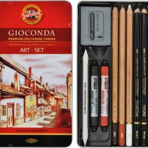 Estuche Metal 8890 Mini-Set de Arte Gioconda KOH-I-NOOR
