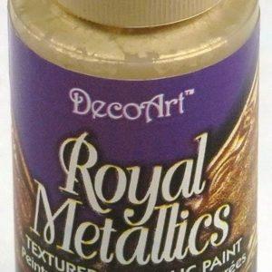 Pintura Metalilzada Royal Metallics DecoArt 59ml Oro Palido