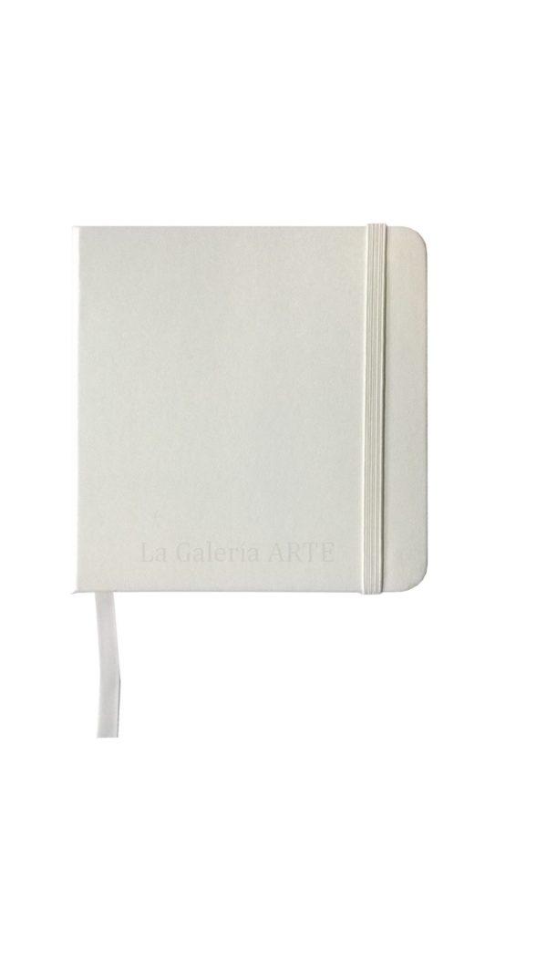 Bloc Cosido Blanco ArtCreation 12x12 cm 140g 80 hojas