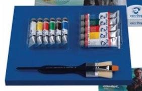 Caja Set Thats Me 5 Acrilicos 40ml y 6 Oleos 20ml Van Gogh