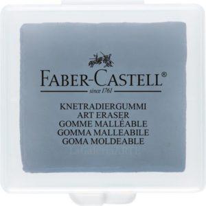 Goma Maleable FABER-CASTELL con cajita individual 18 unidades