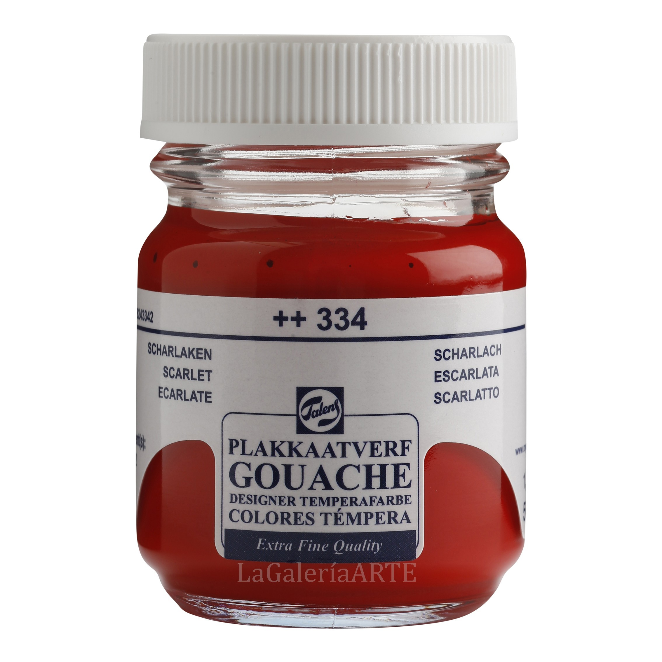 Gouache Talens 50ml 334 Escarlata