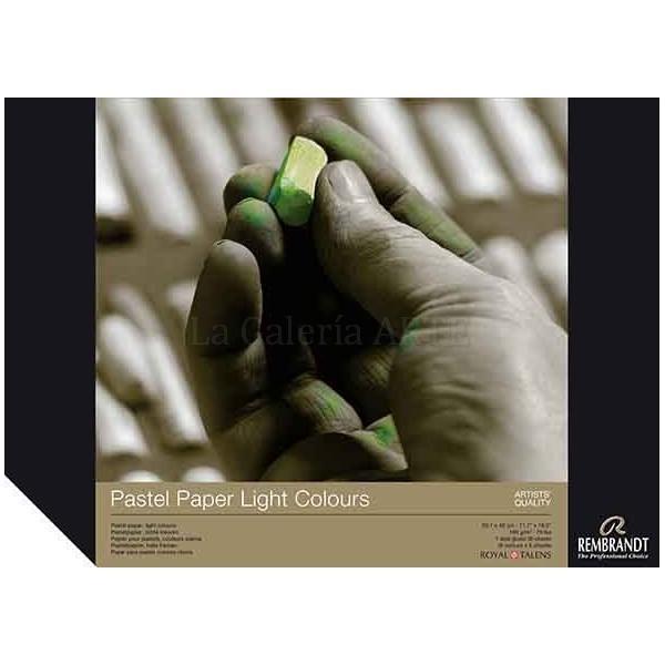 Bloc Pastel Rembrandt A-4 colores claros 30 hojas 160g