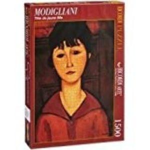 PUZZLE MODIGLIANI TETE DE JEUNE FILLE 1500 PIEZAS