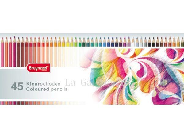 Estuche 45 Colores Bruynzeel Colorido