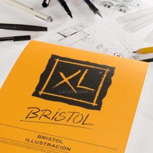 Bloc CANSON XL BRISTOL Ilustracion 50 hojas Encolado 180g A4