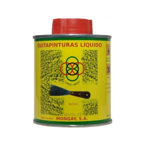 QuitaPinturas Liquido 5 Aros MONGAY 375ml ref. 90.090