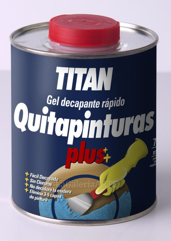 Quitapinturas Plus Gel Decapante Rapido TITAN 375ml