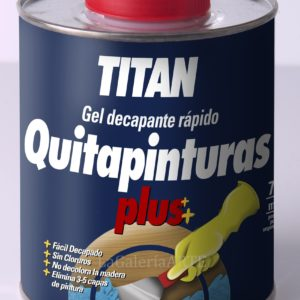 Quitapinturas Plus Gel Decapante Rapido TITAN 750ml