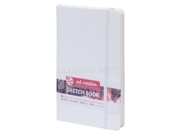 Bloc Cosido Blanco ArtCreation 13x21 cm 140g 80 hojas
