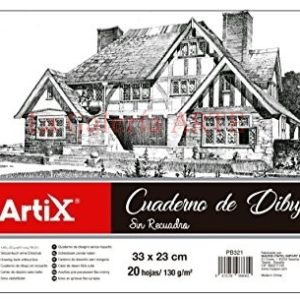 Bloc Dibujo Artix A4 24 Hojas 160g