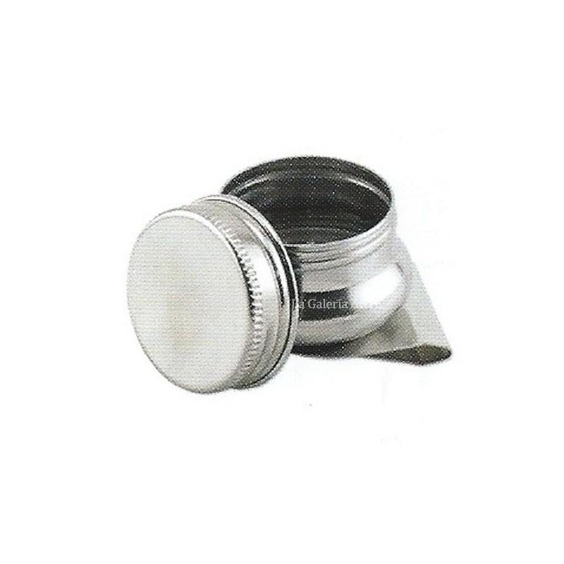 Pocillo Metal Sencillo con Tapa de Rosca 40mm Talens