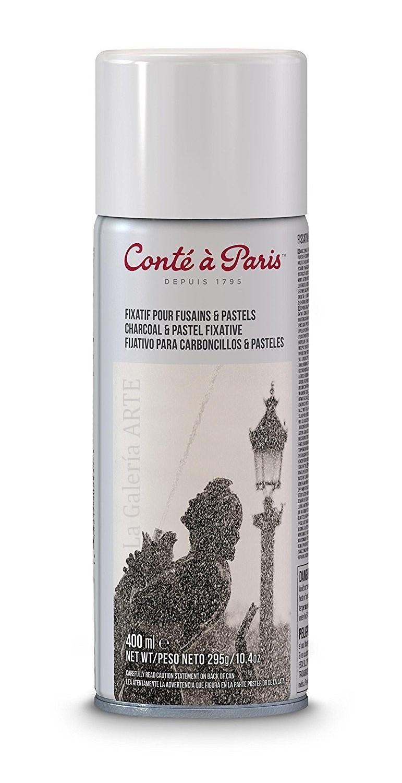 Fijador para Carboncillo y Pastel Conte 400ml