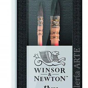 Estuche 2 Pinceles Pelo de Ardilla para Acuarela WINSOR & NEWTON