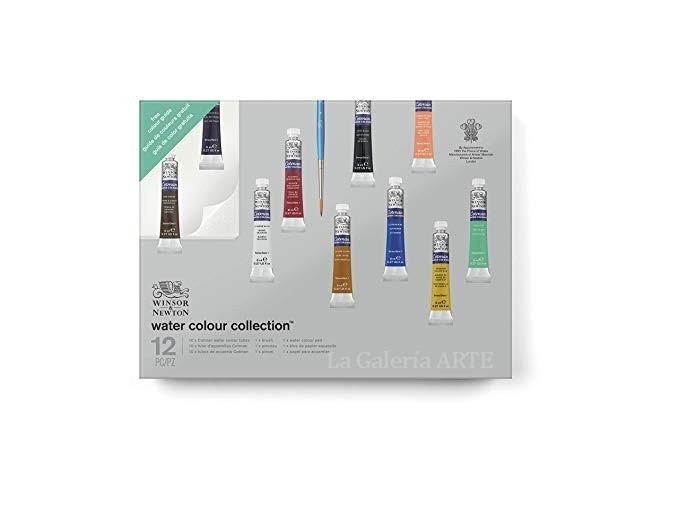 Set Regalo 10 Acuarela Cotman 8ml Winsor & Newton