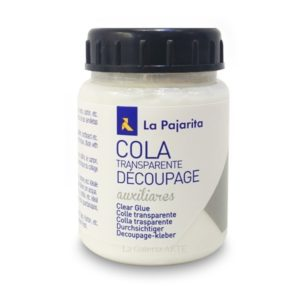 Cola Transparente Decoupage La Pajarita 250ml