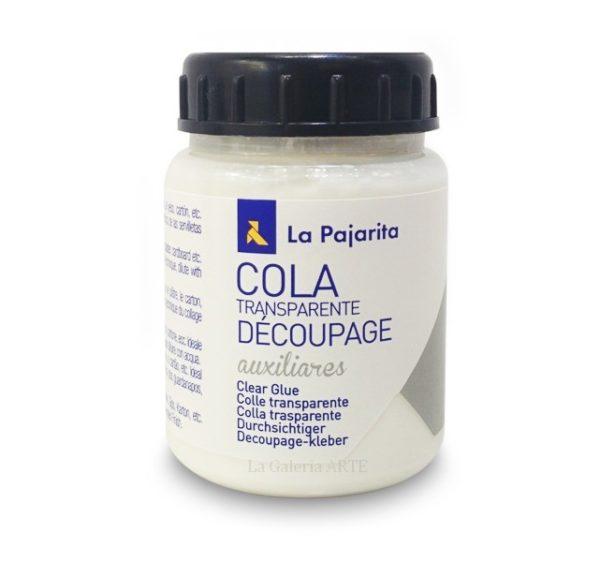 Cola Transparente Decoupage La Pajarita 250ml