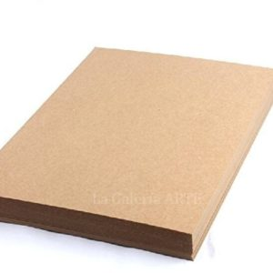 Papel Reciclado Rustico 140g. color Kraft A4 100 unidades