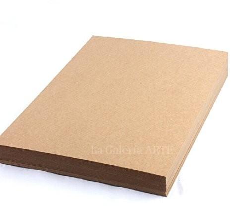Papel Reciclado Rustico 140g. color Kraft A4 100 unidades