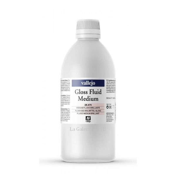 Medium Acrilico Fluido Brillante 28.475 Vallejo 500ml