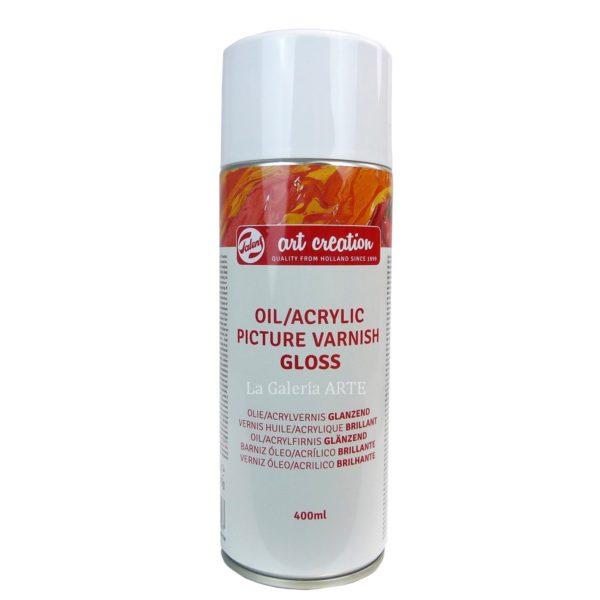 Barniz Oleo y Acrilico Brillante Spray ArtCreation 400ml