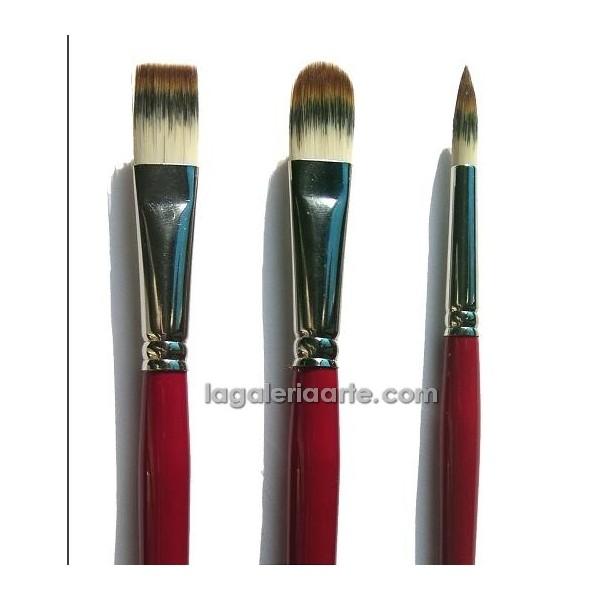 Set Pinceles Van Gogh Oleo y Acrilico 278 6-12-16
