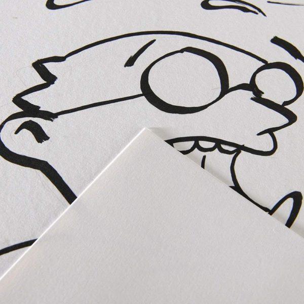 Bloc Illustration Comics 12+4 Hojas A4 250g
