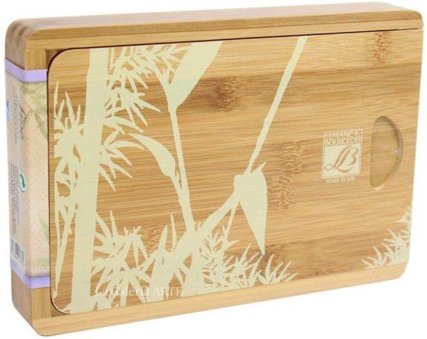 Cofre Bamboo Natura Box 12 Acuarela Fina Lefranc & Bourgeois