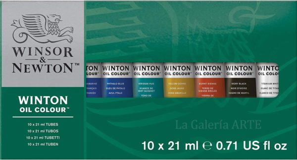 Set Oleo 10x21ml Winsor & Newton